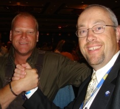 Mike Holmes and Fritz Enzlin