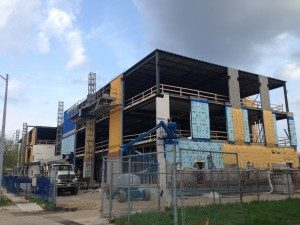Midevco building under construction