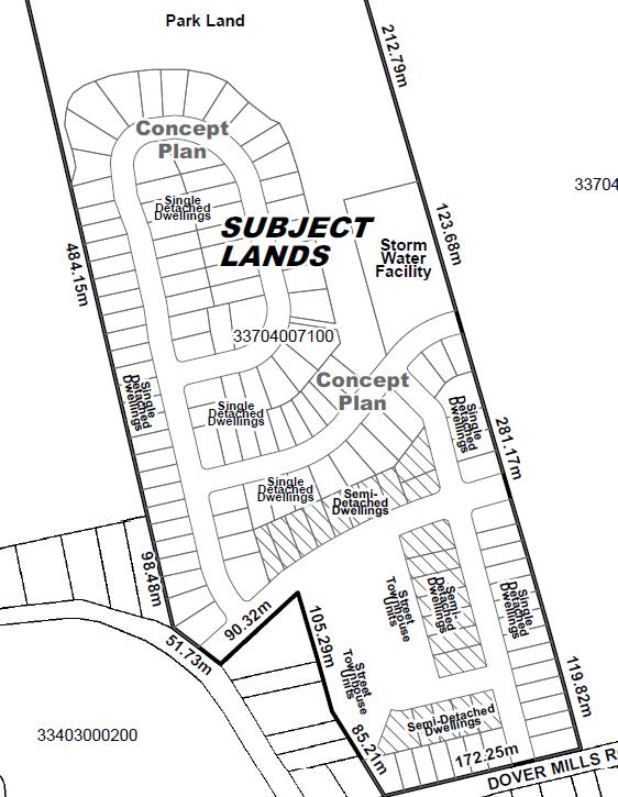 North Dover Mills Plan