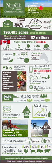 Farm Data Infographic