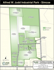 Alfred W. Judd Industrial Park - Luscombe Drive, Simcoe
