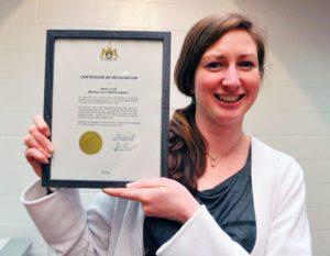 Sarah Judd Winner Award