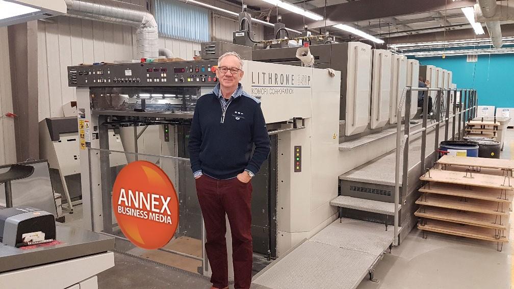 Annex printing press Mike Fredericks