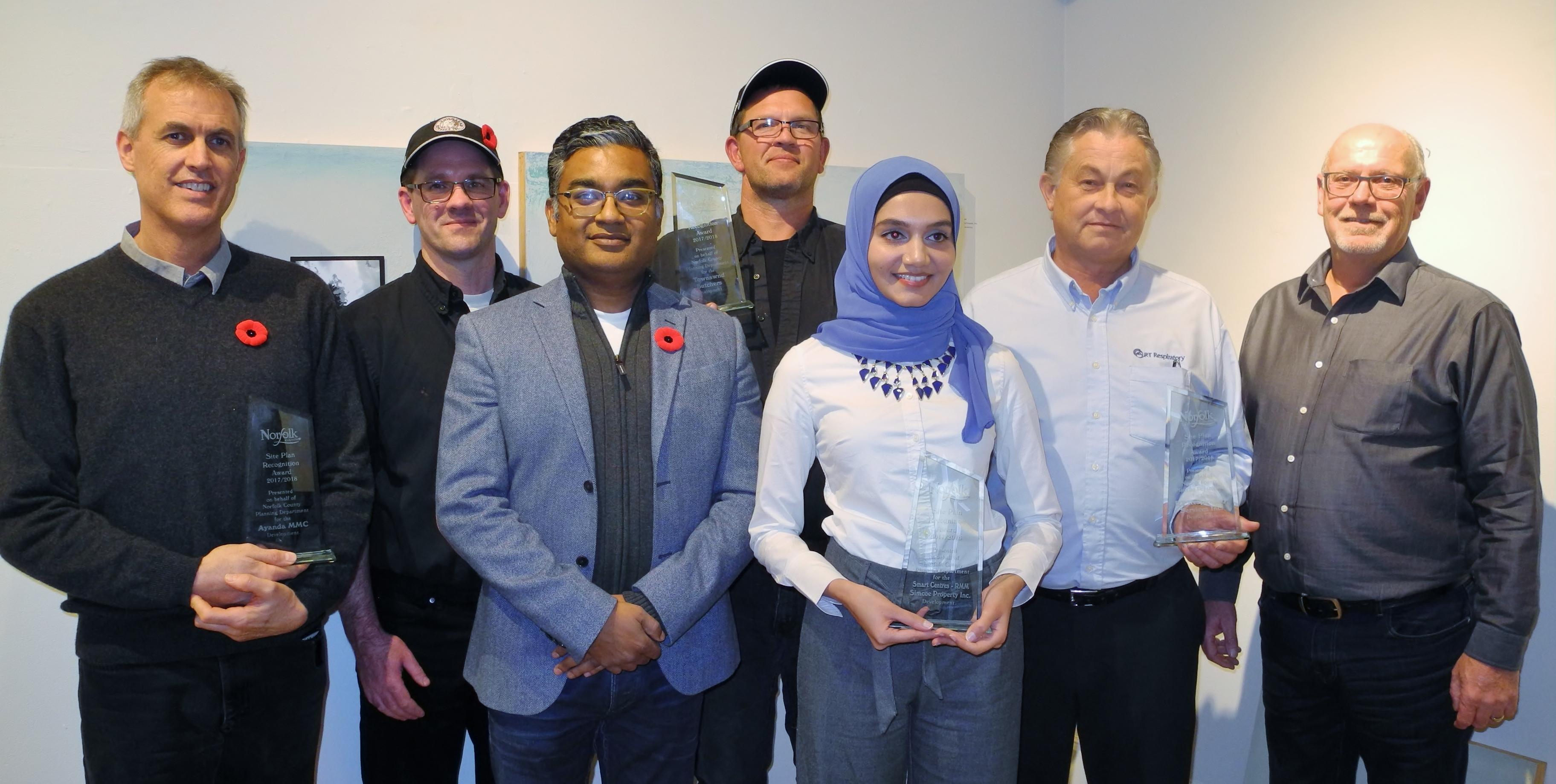 Site Plan Award Winners
