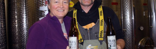 Bonnieheath Estate Lavender and Winery owners Anita and Steve Buehner