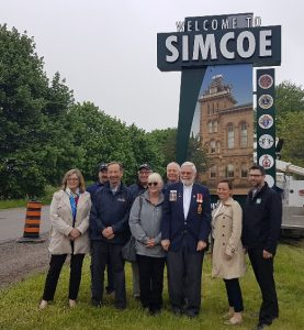 Simcoe Gateway Sign