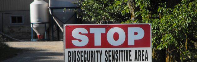 security sign farm