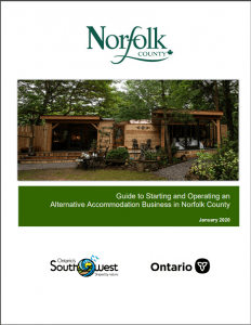 Guide to Starting and Operating an Alternative Accommodation Business in Norfolk County
